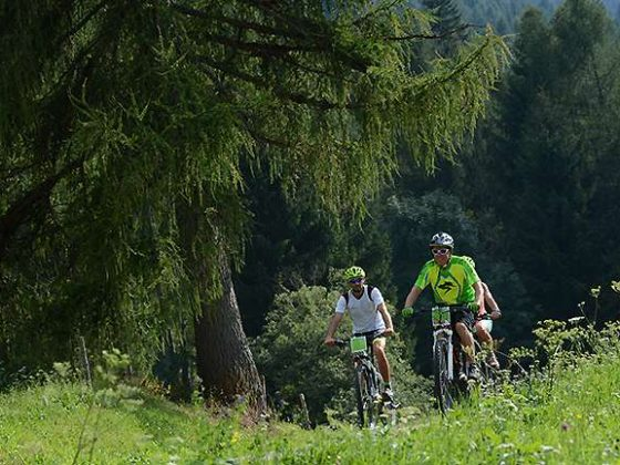 Weekend mountain-bike in val di Fiemme